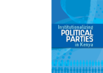 Institutionalizing political parties in Kenya
