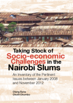 Taking stock of socio-economic challenges in the Nairobi slums