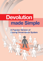 Devolution made simple
