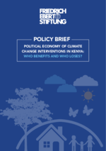 Political economy of climate change interventions in Kenya