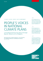 People's voices in national climate plans